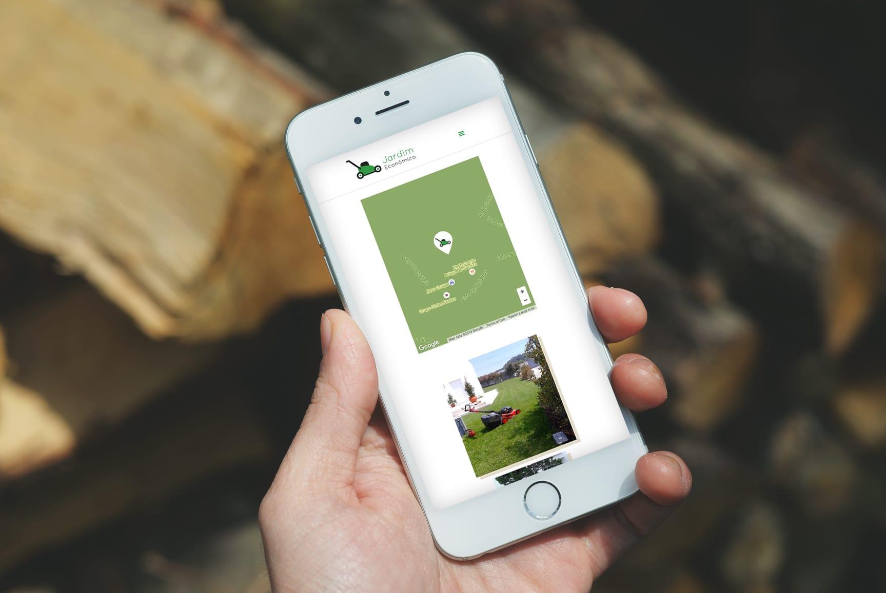 site mobile - portfolio - jardim-economico