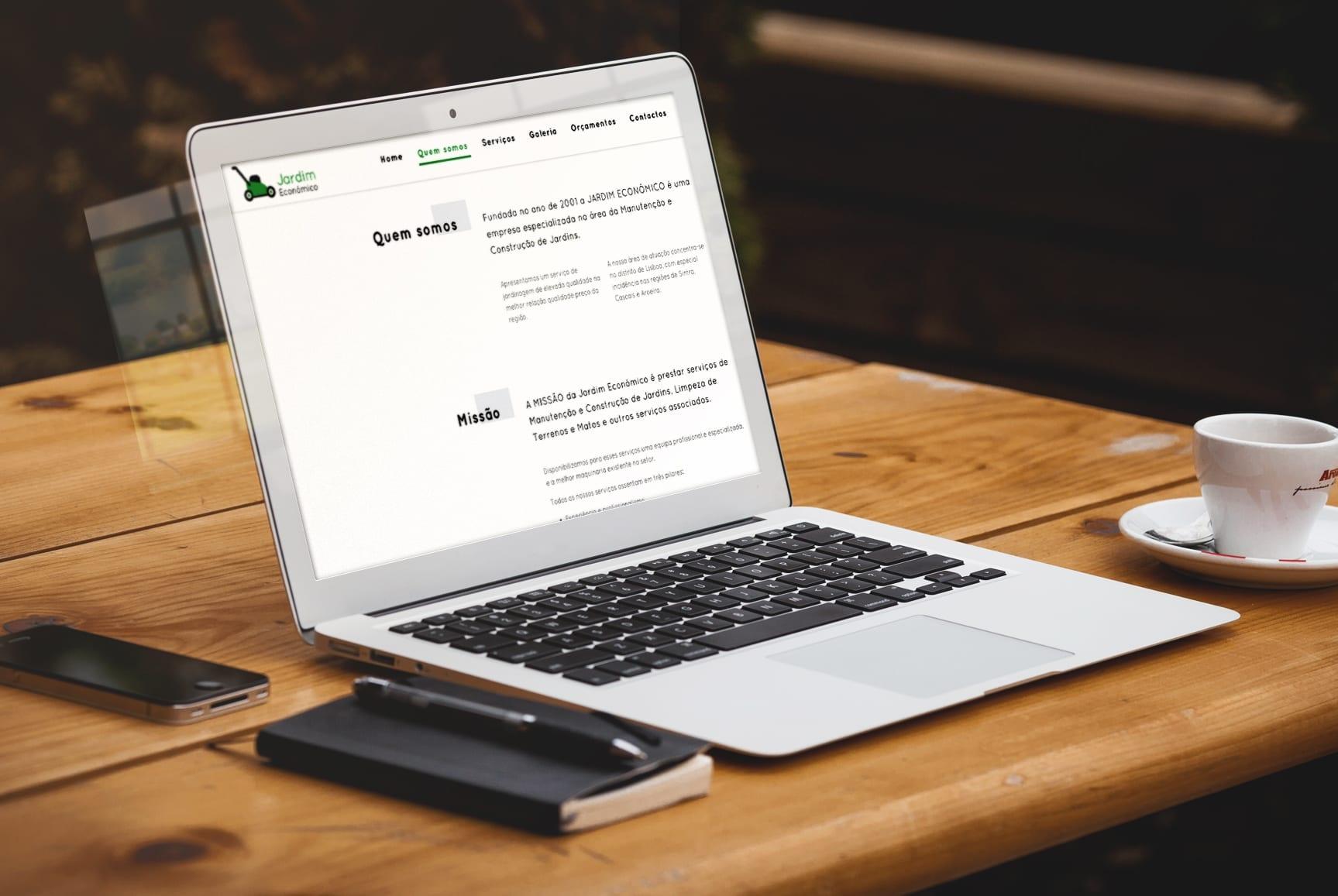 web design - portfolio - jardim-economico