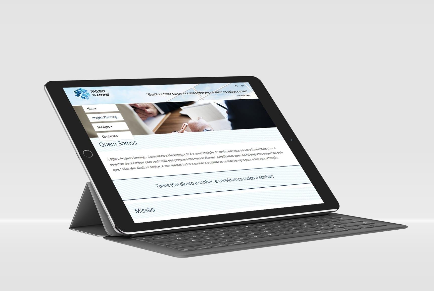 tablet-projektplanning